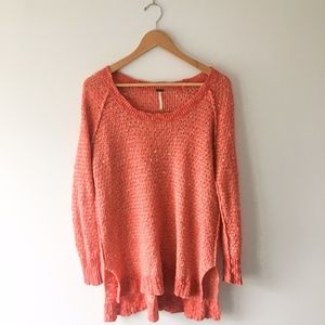Free People // Tunic Style Knit Sweater